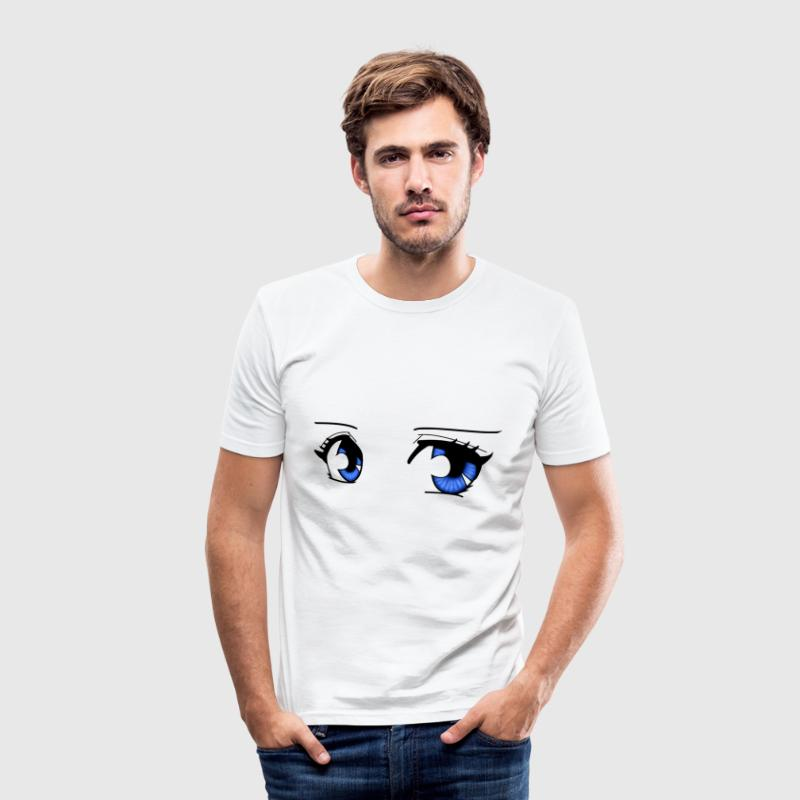 Mangaeyes - Slim Fit T-shirt herr