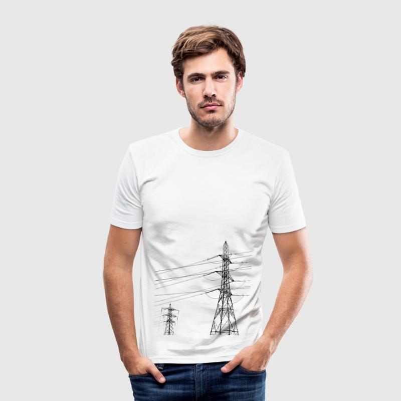 Pylon 1 - Men's Slim Fit T-Shirt