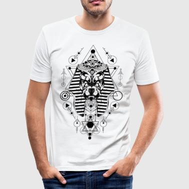 Abstrakte Maske - Männer Slim Fit T-Shirt