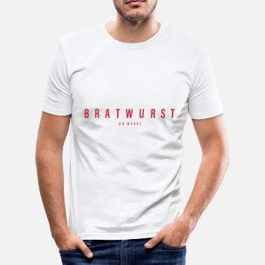 Bratwurst Bratwurst - Men's Slim Fit T-Shirt