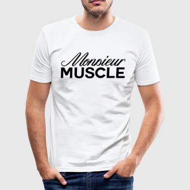 Monsieur Muscles monsieur muscle - T-shirt près du corps Homme