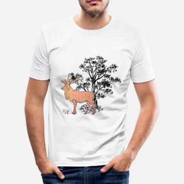 Forst Deer Forst - Men's Slim Fit T-Shirt