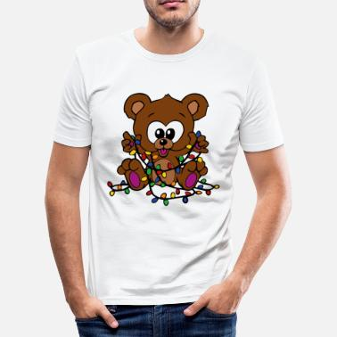 Christmas Bear Bear Bears Christmas - Men's Slim Fit T-Shirt
