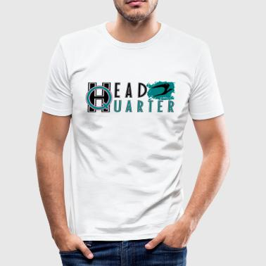 Hauptquartier headquarter bird_v3 de - Männer Slim Fit T-Shirt