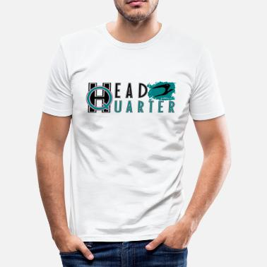 headquarter bird_v3 de - Männer Slim Fit T-Shirt