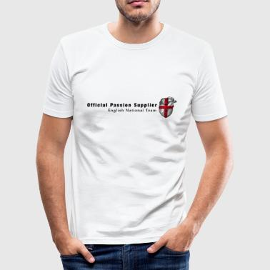 England Hockey England Fanshirt Passion & Heart - Men's Slim Fit T-Shirt