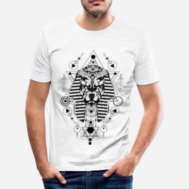 Abstract Abstract mask - Men's Slim Fit T-Shirt