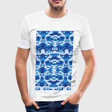 Blue bad  - Tee shirt près du corps Homme