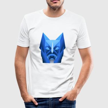 Hond Wolf Polygon hond Wolf - slim fit T-shirt