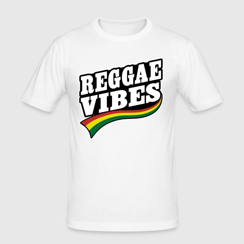 reggae vibes - Men's Slim Fit T-Shirt