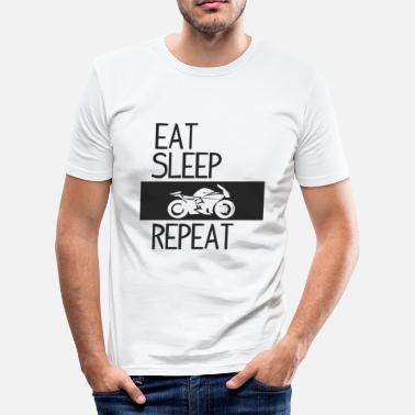 Racing Machine Motorcyclist motorcycle racing machine - Men's Slim Fit T-Shirt