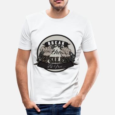 Own Rules Break the Rules - Men's Slim Fit T-Shirt