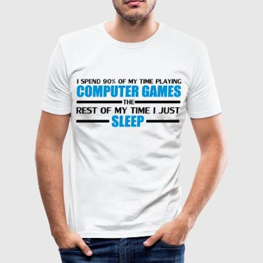Computer Games - Slim Fit T-skjorte for menn