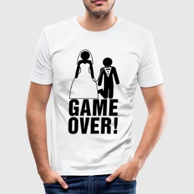 Bachelor Parties | bruidegom | Game Over! - slim fit T-shirt