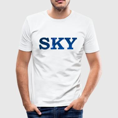Sky sky - Men's Slim Fit T-Shirt