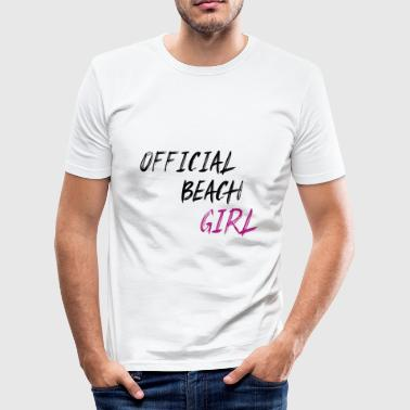 Beach Girl Beach Girls Sand - Men's Slim Fit T-Shirt