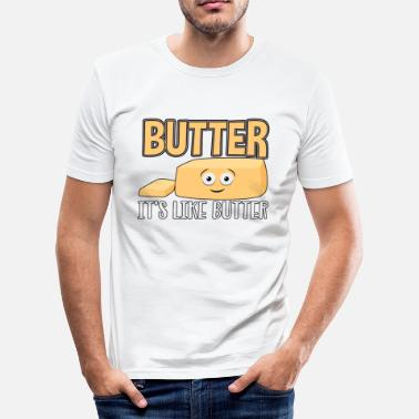 Butter Butter butter butter - Men's Slim Fit T-Shirt