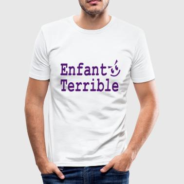 enfant terrible - Men's Slim Fit T-Shirt