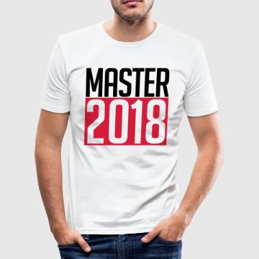 master 2018 - slim fit T-shirt