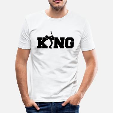 Gitaar Band Gitaar King - gitaar - band - rockmuziek - King - slim fit T-shirt