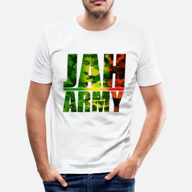 Jah Army Jah Army - Men's Slim Fit T-Shirt