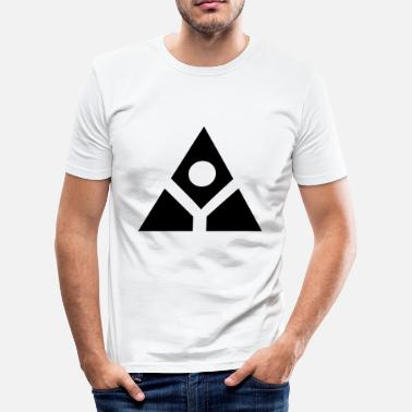 Holy Geometry Sacred geometry inspired by the Ouija Board - Men's Slim Fit T-Shirt