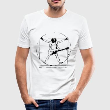 Da Vinci Rock - Männer Slim Fit T-Shirt