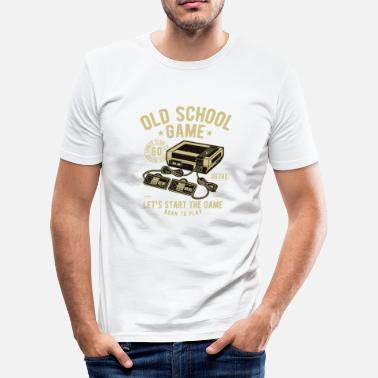 Retro Gaming - T-shirt moulant Homme