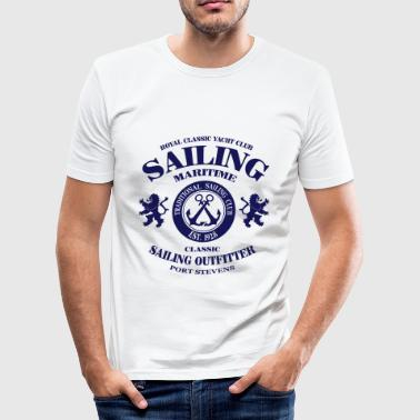 Maritime Sailing - Männer Slim Fit T-Shirt