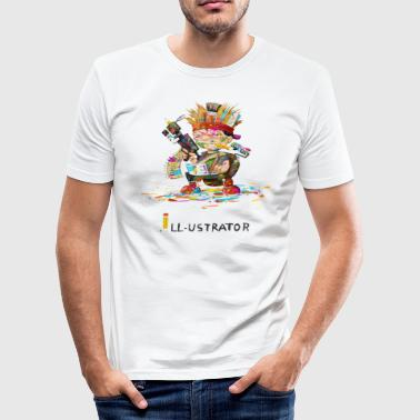 Illustrator illustrator - Men's Slim Fit T-Shirt
