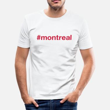 Montreal MONTREAL - Slim fit T-skjorte for menn