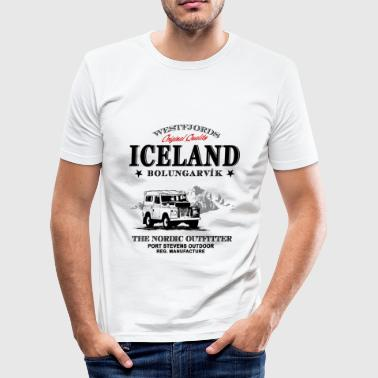 Iceland Adventure - Jeep & Mountains - Männer Slim Fit T-Shirt