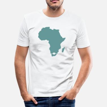 The Heart Of Africa Africa with a heart - Men's Slim Fit T-Shirt
