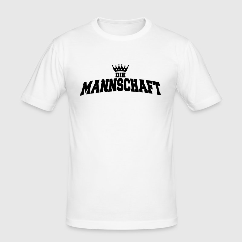 die mannschaft with crown - T-shirt près du corps Homme