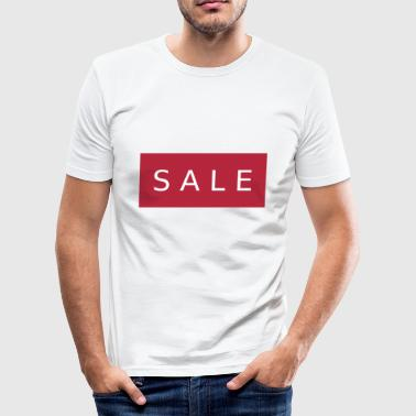SALE - Slim Fit T-skjorte for menn