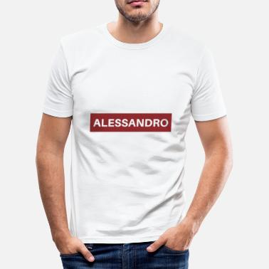 Alessandro Alessandro - slim fit T-shirt