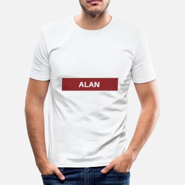 Alan Alan - Herre Slim Fit T-Shirt