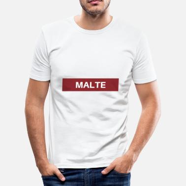 Malte Malte - Herre Slim Fit T-Shirt
