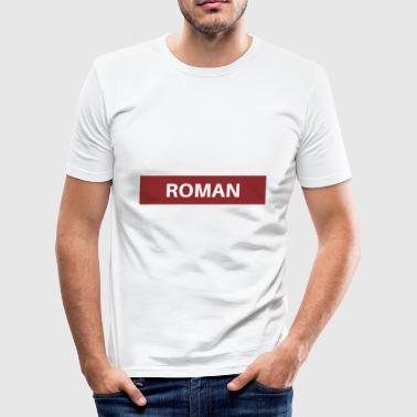 Roman roman - slim fit T-shirt