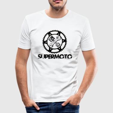 supermoto - Slim Fit T-skjorte for menn