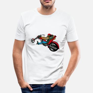 Chopper Biker op chopper - slim fit T-shirt