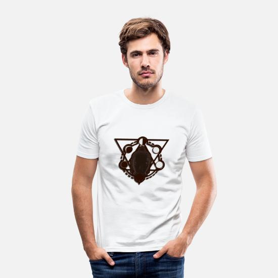 Gift Idea T-Shirts - Buddhism - Men's Slim Fit T-Shirt white
