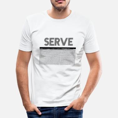 Server serveren - slim fit T-shirt