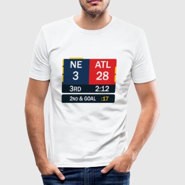 New England comeback - Slim Fit T-skjorte for menn