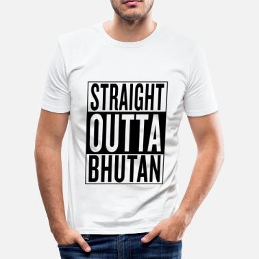 Bhutan Bhutan - Men's Slim Fit T-Shirt