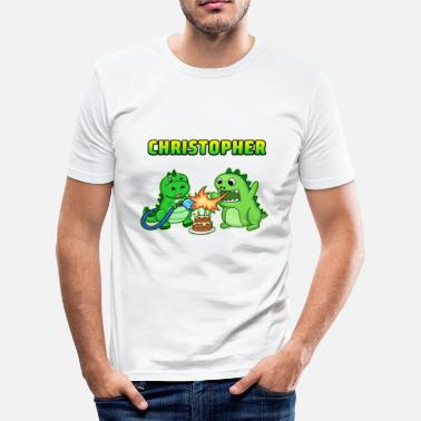 Christopher Christopher verjaardagscadeau - slim fit T-shirt