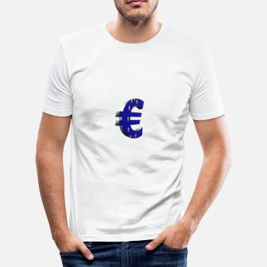 Euro Pop euro - Slim Fit T-skjorte for menn