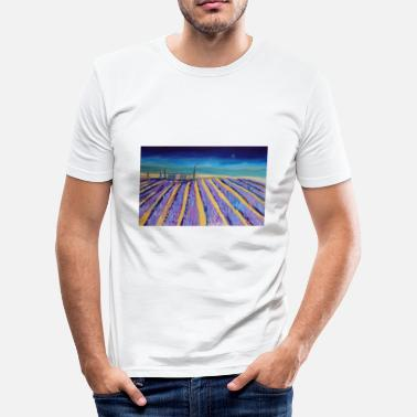 Provence Lavender fields in Provence - Men's Slim Fit T-Shirt
