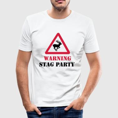Stag Party - Männer Slim Fit T-Shirt