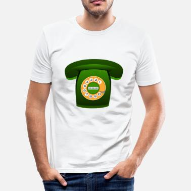 Telefoon telefoon - slim fit T-shirt